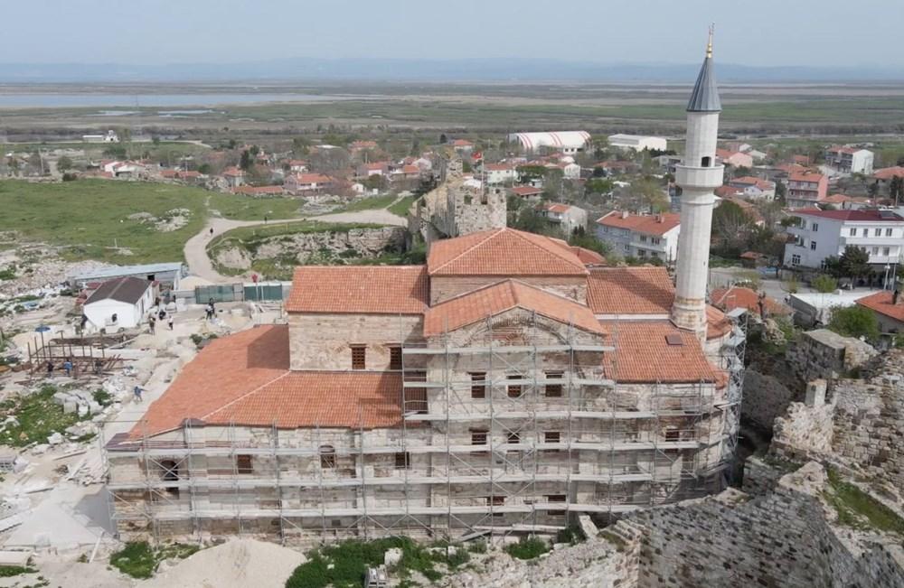 Edirne'deki tarihi Enez Fatih Camisi 56 yıl sonra ibadete açılıyor - 9