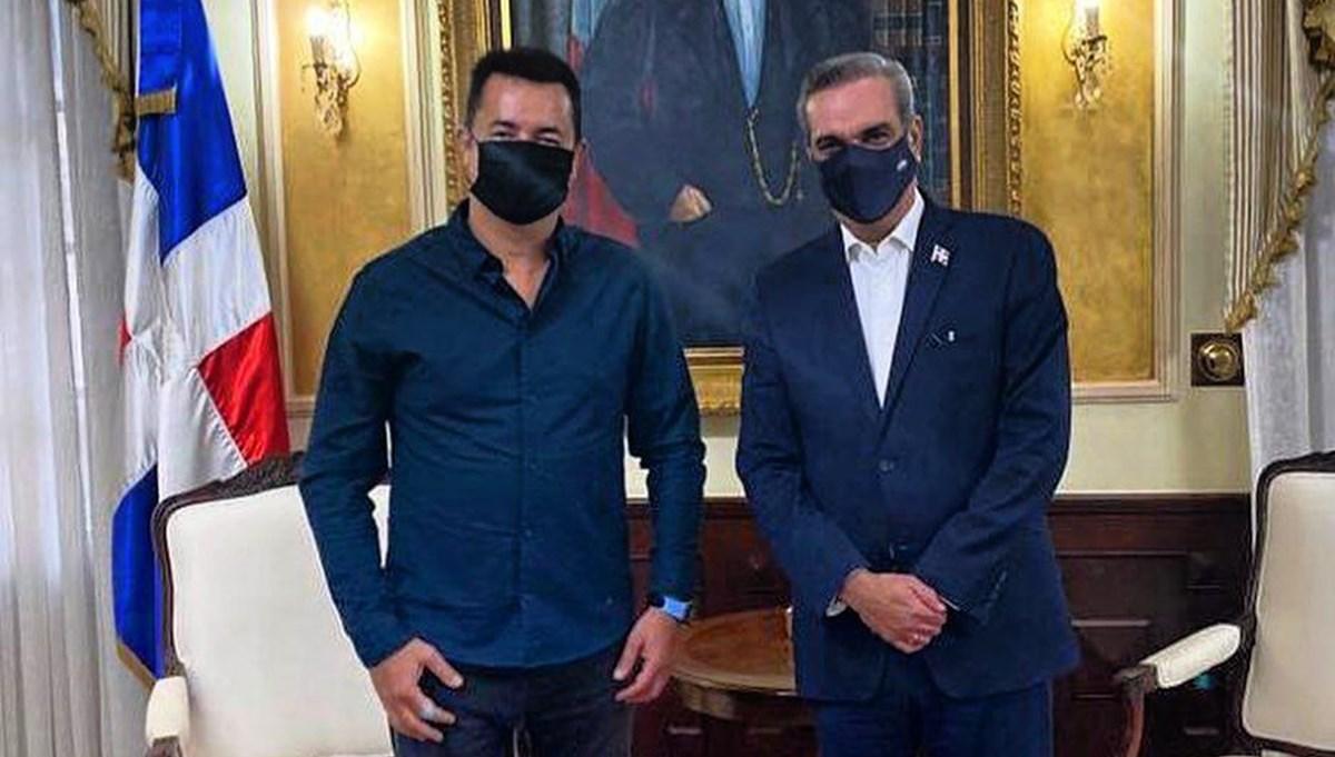 Acun Ilıcalı Dominik Cumhurbaşkanı ile görüştü