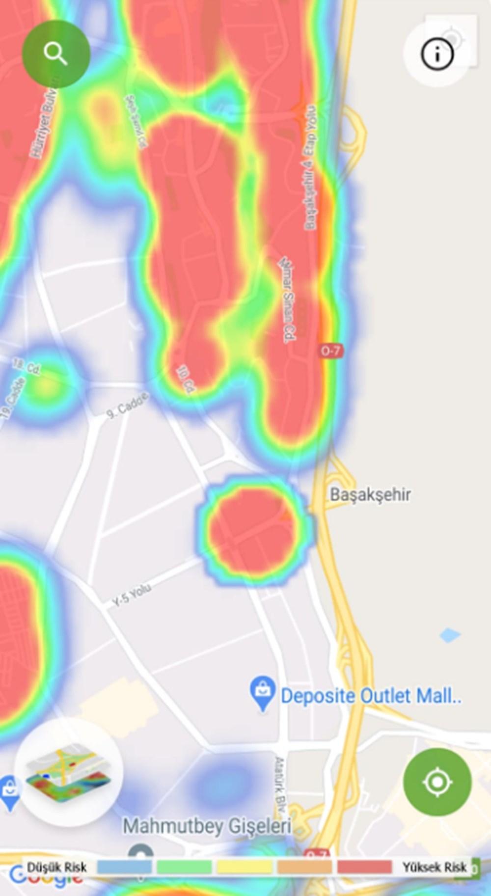 Corona haritası kızarıyor (İstanbul'un en güvenli ilçeleri) - 40