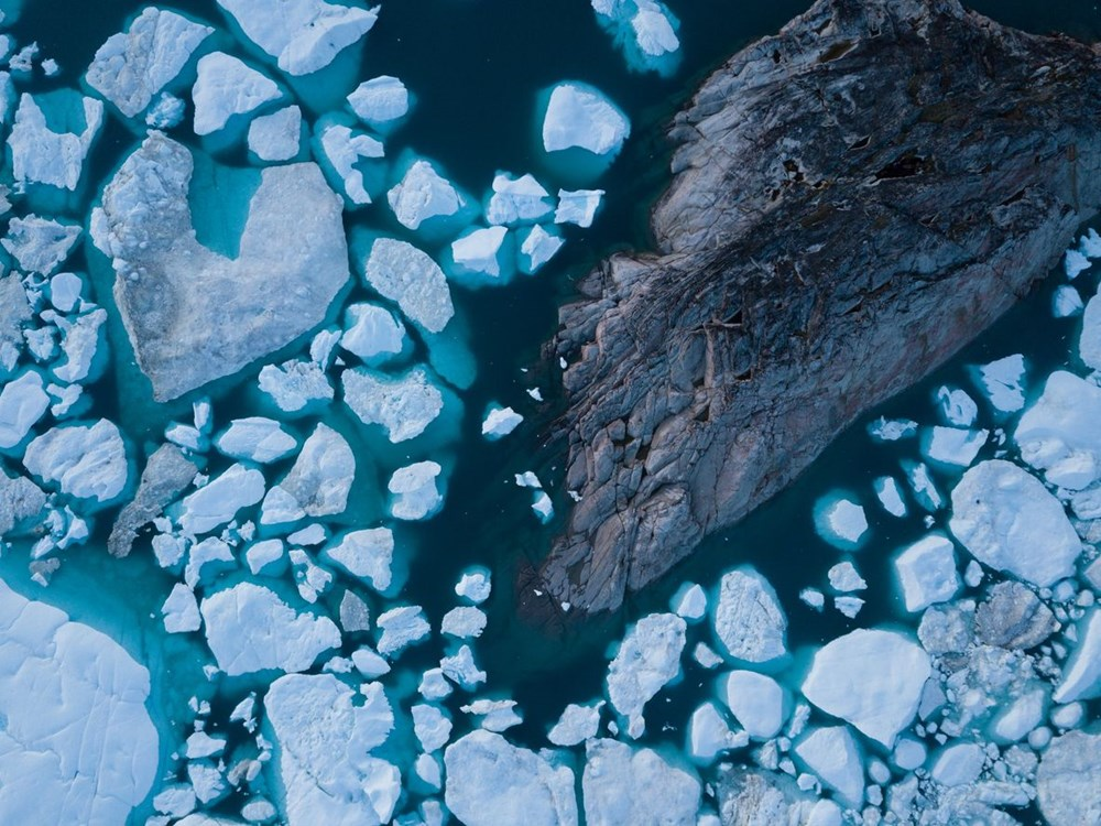 Grönland hızla eriyor: Son 2 günde 17 milyar ton buzul yok oldu - 6
