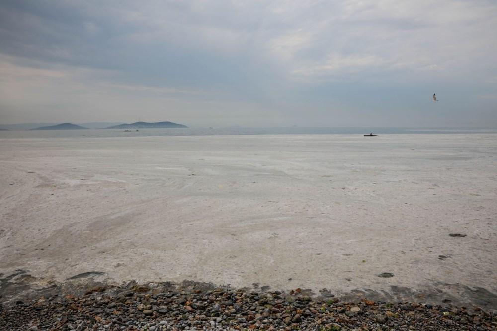 İstanbul'un sahilleri müsilajla doldu: 95 yıldır böyle bir şey görmedim - 16