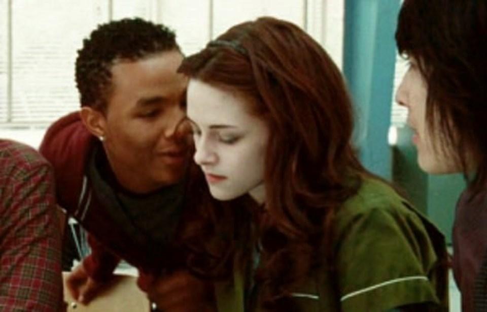 Tyler Crowley karakteri ile Boyce ve Bella Swan karakteriyleKristen Stewart, Alacakaranlık filminde rol aldı.
