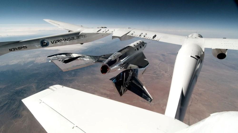 Virgin Galactic ikinci uçuş testini başarıyla tamamladı - 6