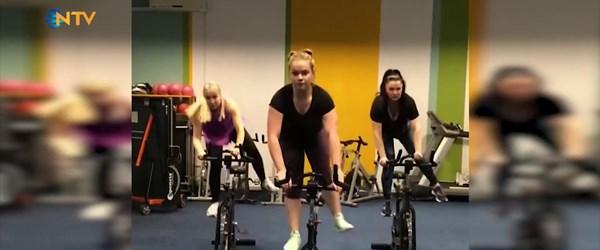 Jimnastiği bisiklete taşıdı