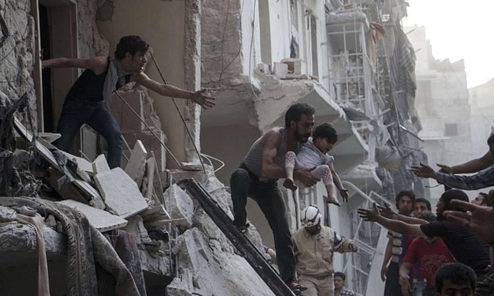 Suriye'de 5 yıldır devam eden iç savaşın en büyük kurbanlarından biri de çocuklar...