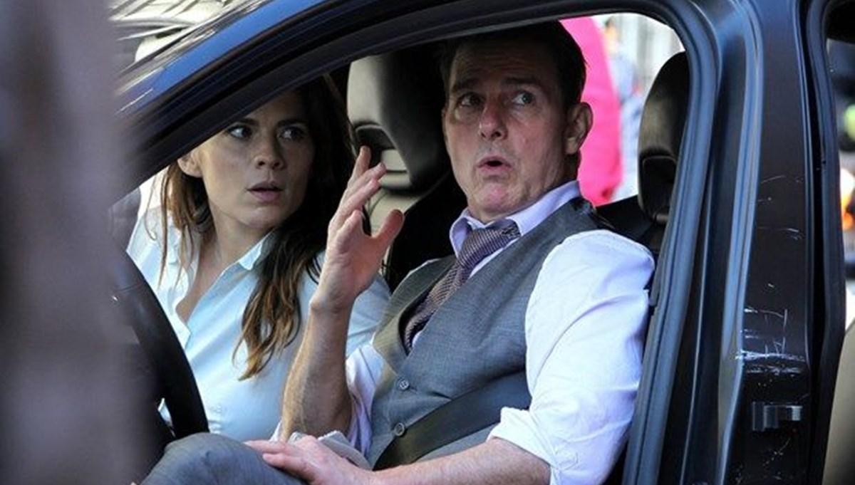 Görevimiz Tehlike 7 setinde Tom Cruise ile Hayley Atwell aşkı