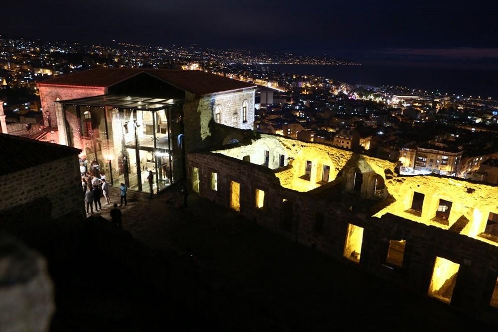 Trabzon'da restorasyonu tamamlanan Kızlar Manastırı ziyarete açıldı - 7