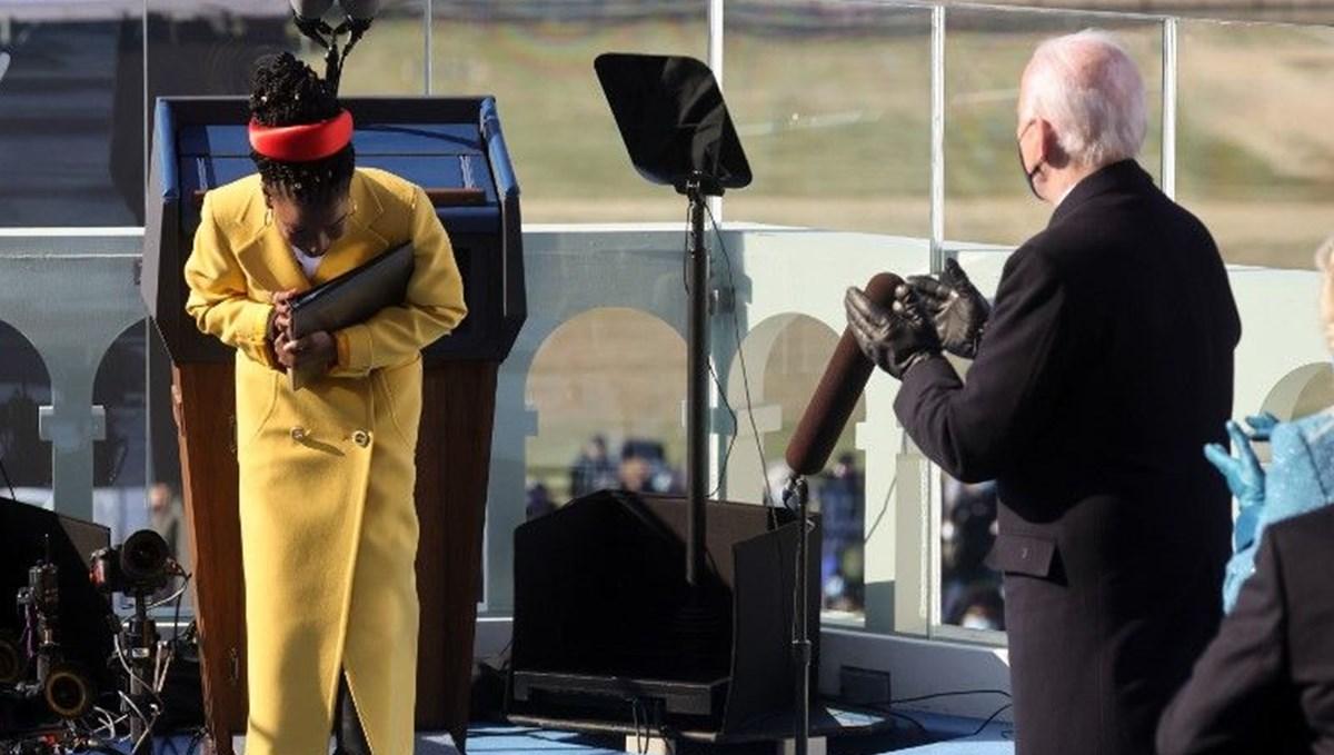 Joe Biden'ın töreninde şiir okuyan Amanda Gorman'a bir günde iki milyon takipçi