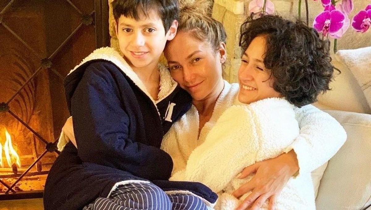 Jennifer Lopez'den ikizleri Emme ve Max'a doğum günü kutlaması