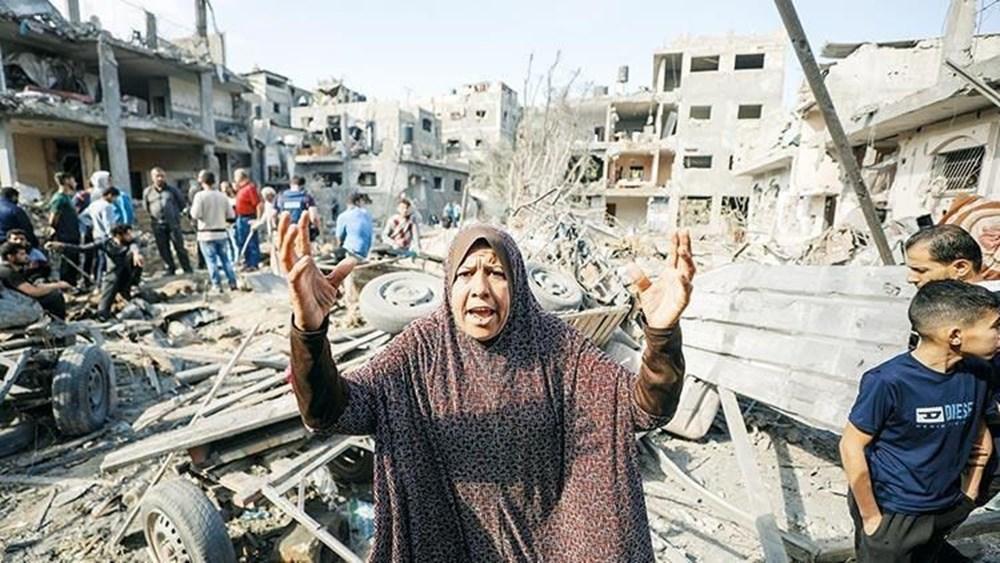 Hamas'ın Gazze'de kullandığı tüneller görüntülendi: İsrail'in hedefinde - 8
