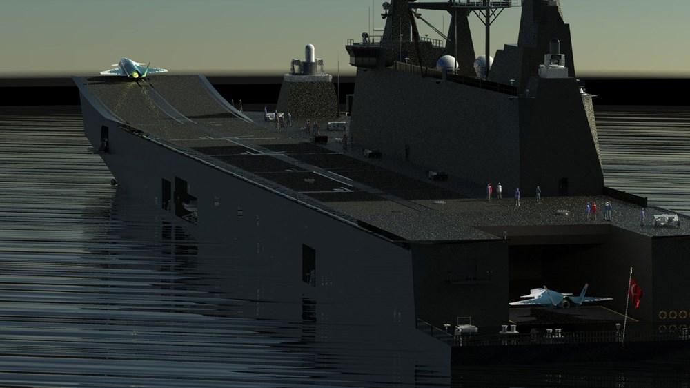 Baykar'dan insansız savaş uçağına ilişkin görsel paylaşımı - 1