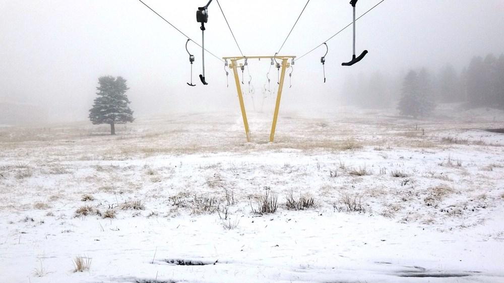 Uludağ'da kar yağışı tatilcileri sevindirdi - 2