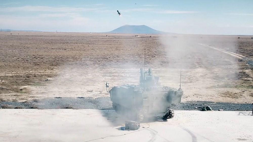 Dijital birliğin robot askeri Barkan göreve hazırlanıyor (Türkiye'nin yeni nesil yerli silahları) - 153