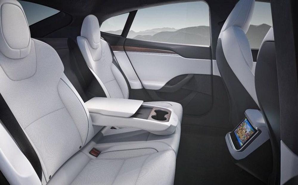 Tesla Model S'in yeni kokpit görselleri yayınlandı - 7
