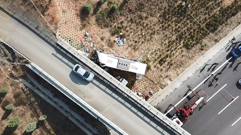 Kuzey Marmara Otoyolu'nda otobüs yoldan çıktı: 5 ölü, 25 yaralı - 20