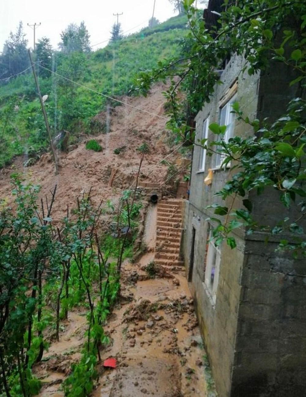 Şiddetli yağış Rize'yi de vurdu: 2 can kaybı - 37