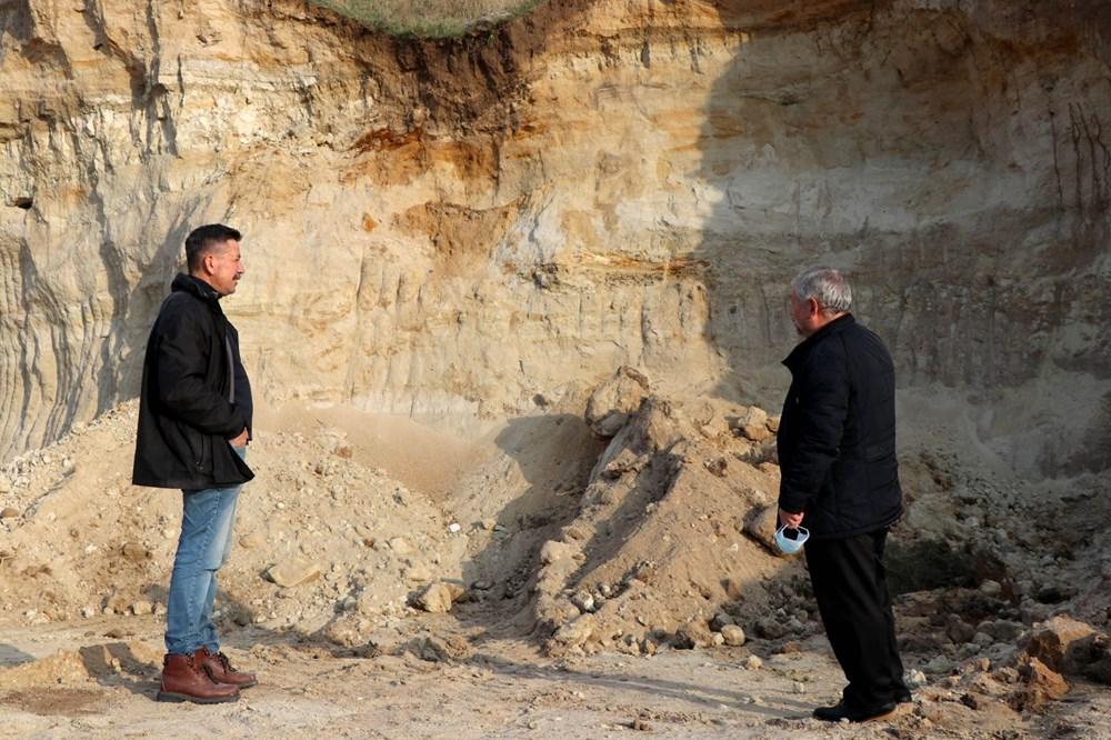 Edirne'de 8 milyon yıllık mamut fosilleri bulundu - 5