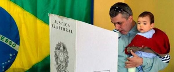 Brezilya'da halk sandık başında