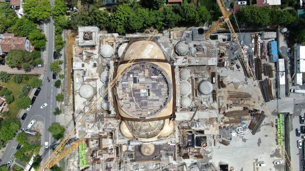 Levent'teki Barbaros Hayrettin Paşa Cami'nin yüzde 75'i tamamlandı - 5