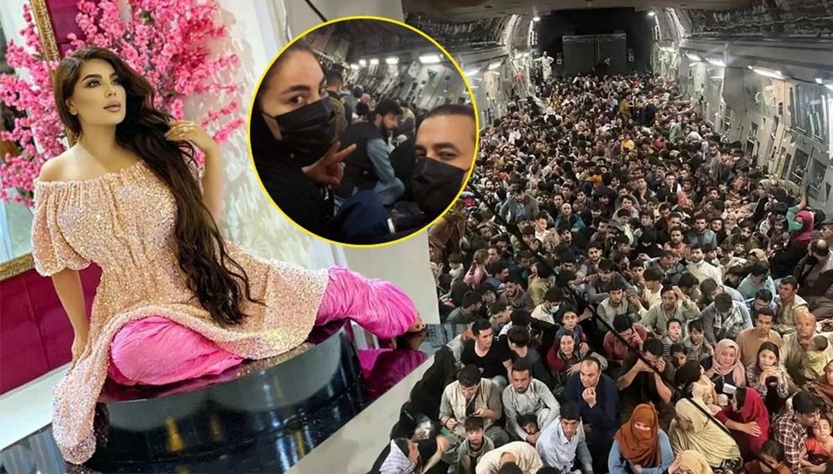 Afganistan'ın en ünlü pop yıldızı da Amerikan uçağıyla ülkeden kaçtı, Türkiye'ye geldi