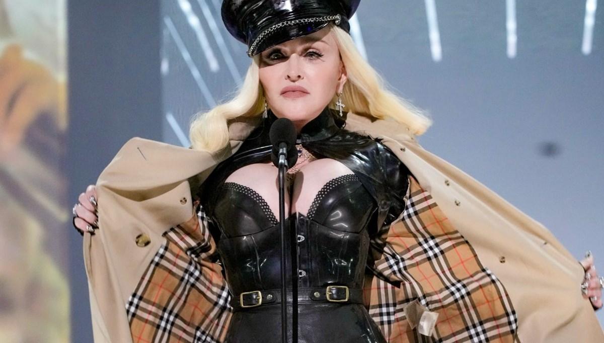 Madonna'dan 2021 MTV Video Müzik Ödülleri'ne sürpriz açılış
