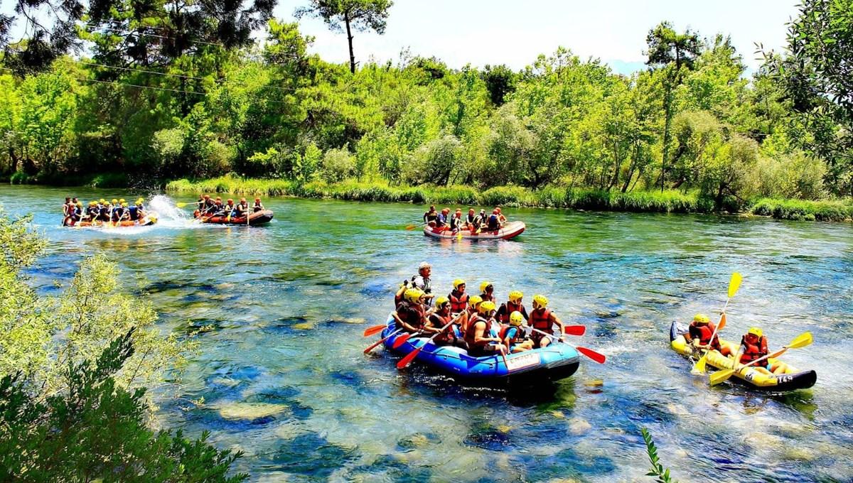 Günde 5 bin kişi rafting yapıyor: Burası adrenalin tutkunlarının gözdesi Köprülü Kanyon