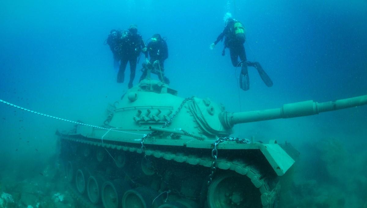 Türkiye'nin mavi derinliklerinde en güzel dalış noktaları