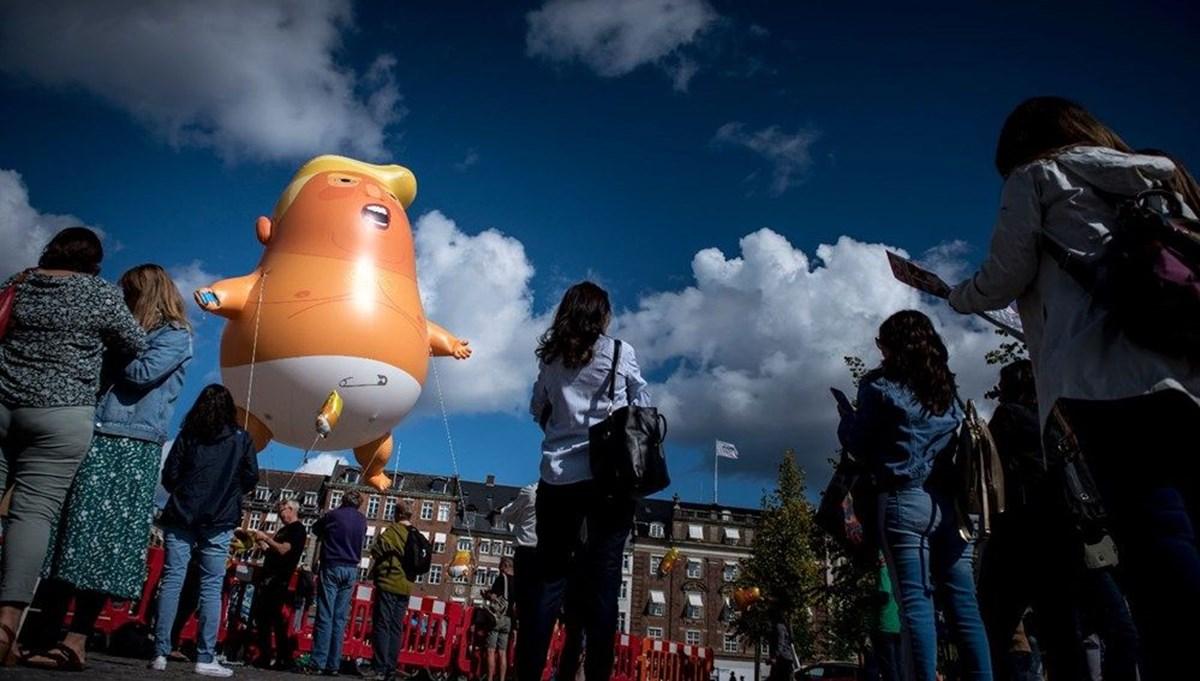 'Bebek Trump' Londra Müzesi'nde sergilenecek