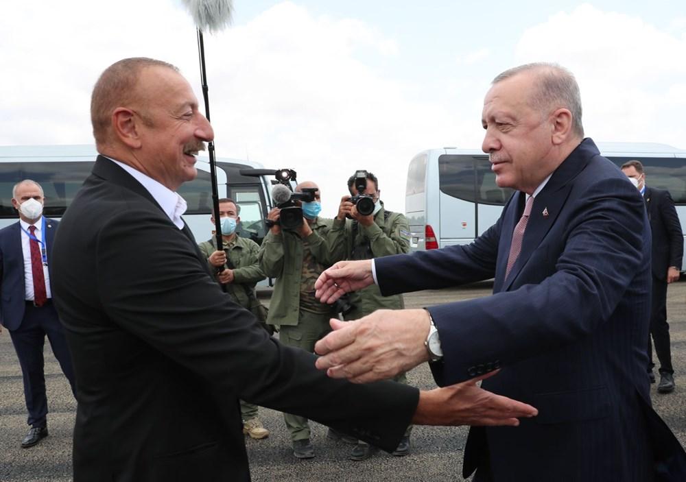Cumhurbaşkanı Erdoğan, Azerbaycan'da - 2