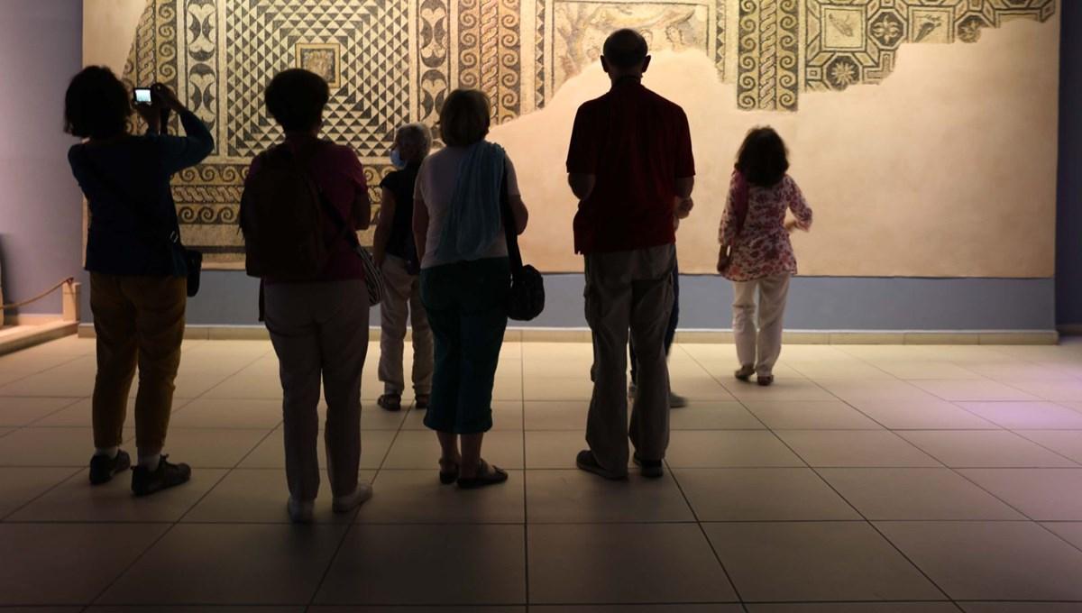 Zeugma Mozaik Müzesi'ne 9 ayda 125 bin ziyaretçi
