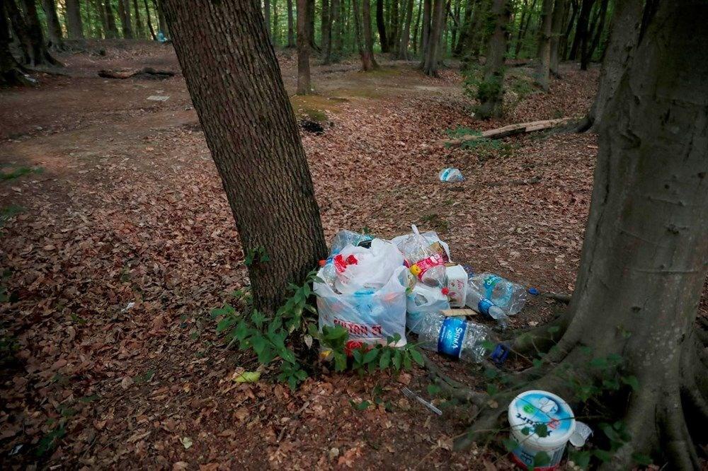 Belgrad Ormanı'nda bitmeyen vandallık - 7