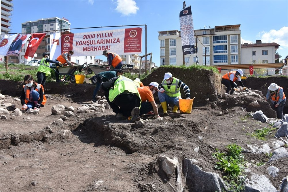 Bilecik'teki kazılarda 9 bin yıl öncesine ait yaşam alanları gün yüzüne çıkarıldı - 3
