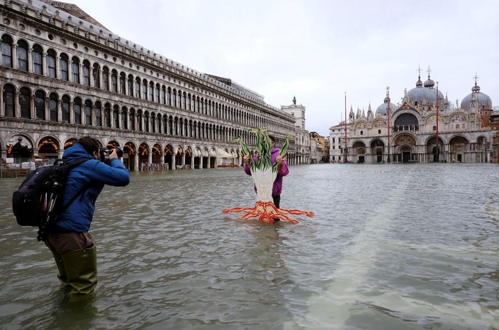 Venedik'te yine su baskını: Milyar dolarlık proje işe yaramadı - 8