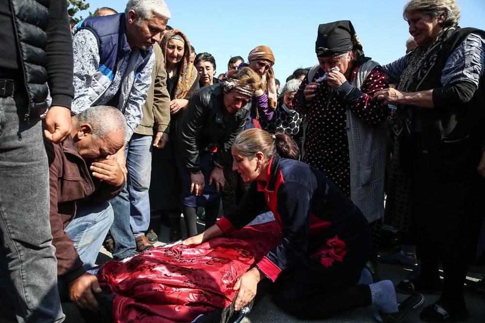 Hain saldırının küçük kurbanları: Cenazede gözyaşları sel oldu - 18