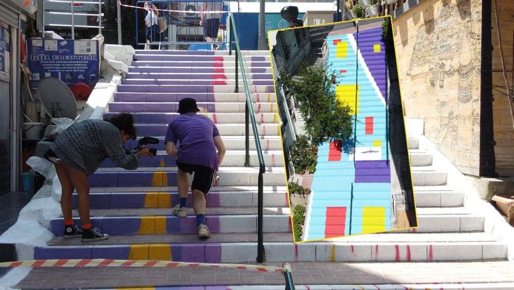 Merdivenler renkleniyor - 5