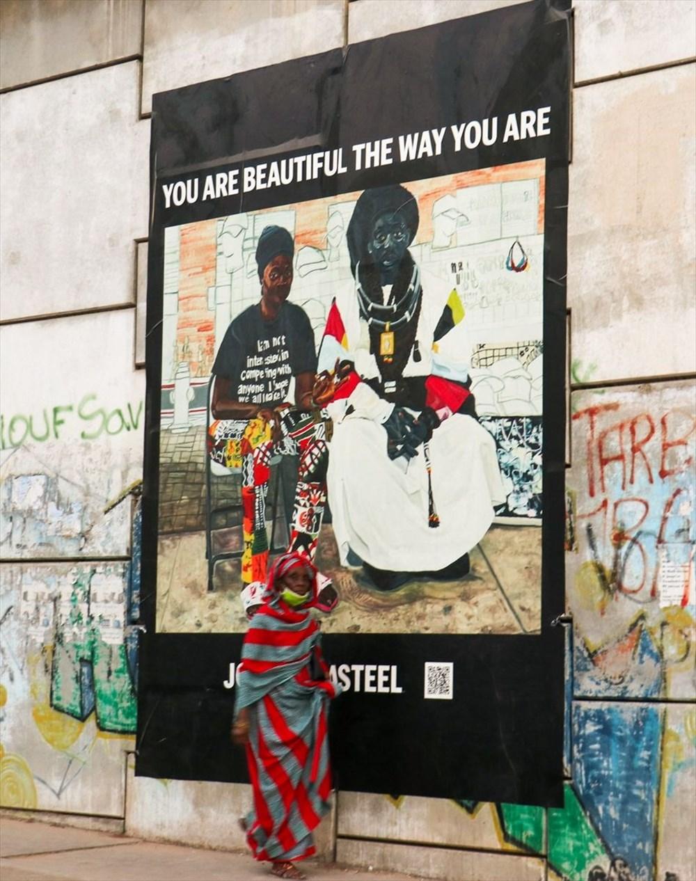 Afrikalı sanatçılar, Olduğun gibi güzelsin isimli çağdaş sanat projesinde birleşti - 3