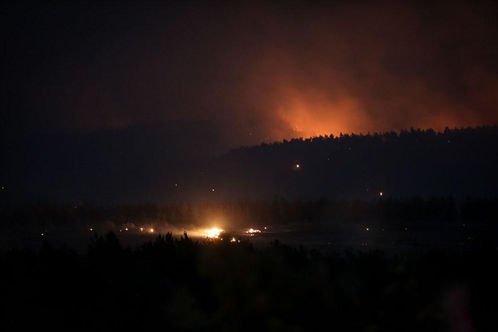 Gelibolu Yarımadası'nda orman yangınında son durum - 11