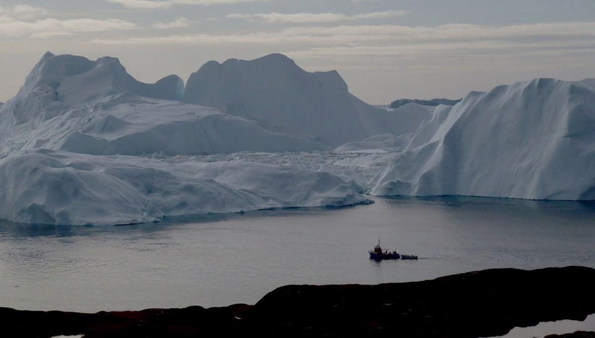 Grönland'da bir yılda korkutan buzul erimesi