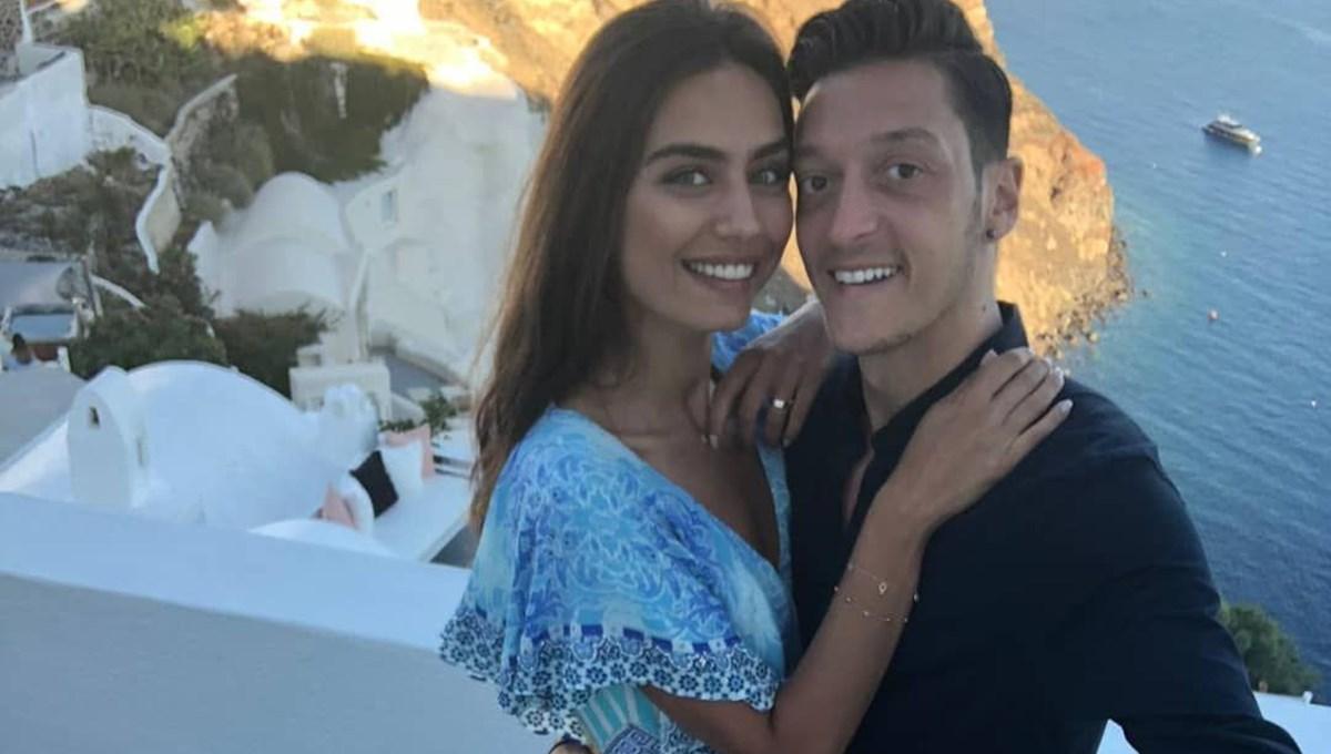 Mesut Özil transferinde Amine Gülşe etkeni: Keşke İstanbul'a gelse