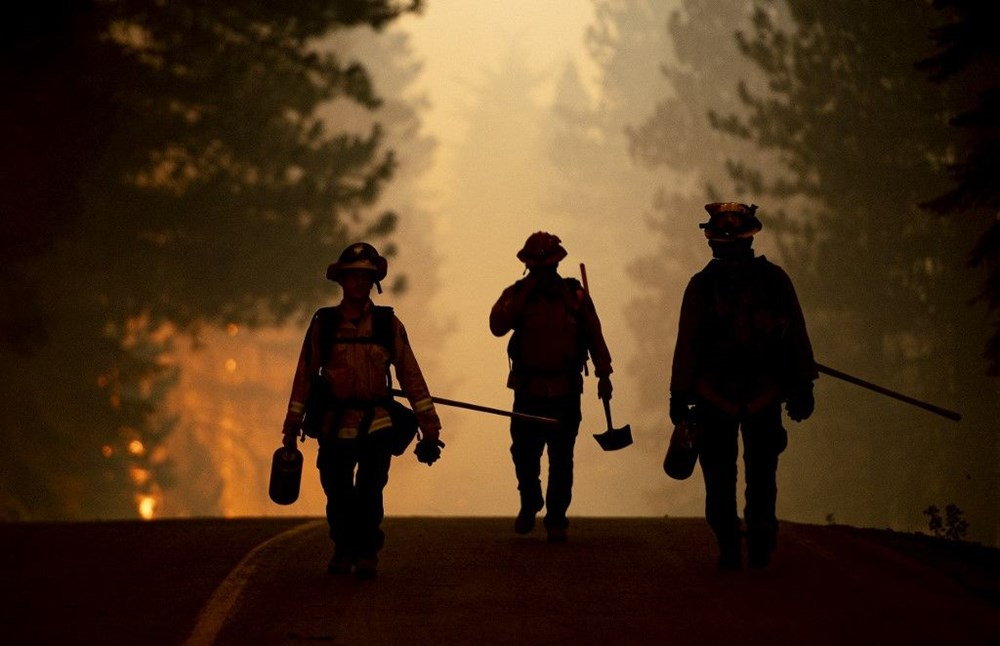 California'da orman yangınları evleri küle çevirdi - 6