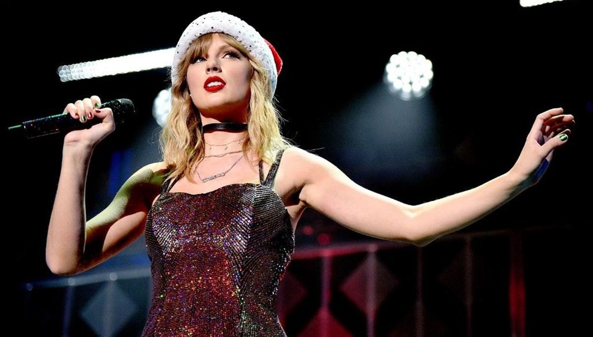 Taylor Swift'in yeni albümü Evermore bir haftada bir milyon sattı