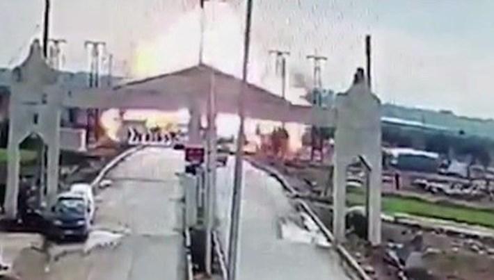 Kilis sınırında patlama:3 yaralı