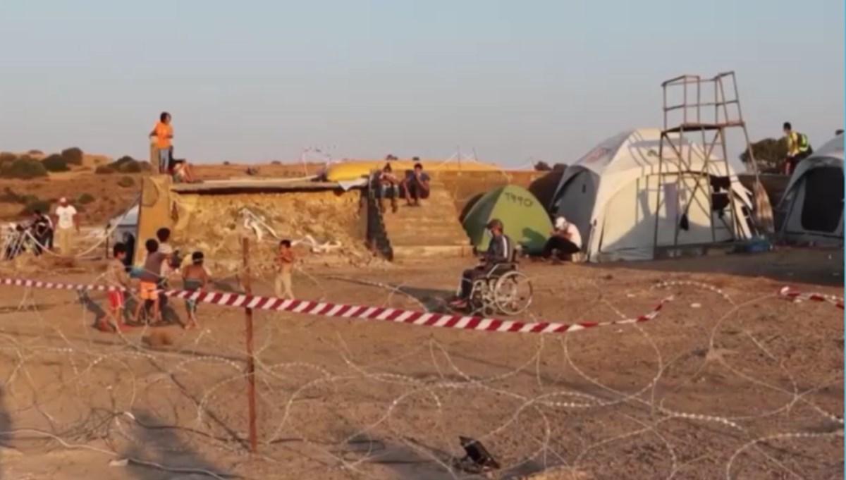 Midilli'de virüs saptanan sığınmacılara insanlık dışı muamele