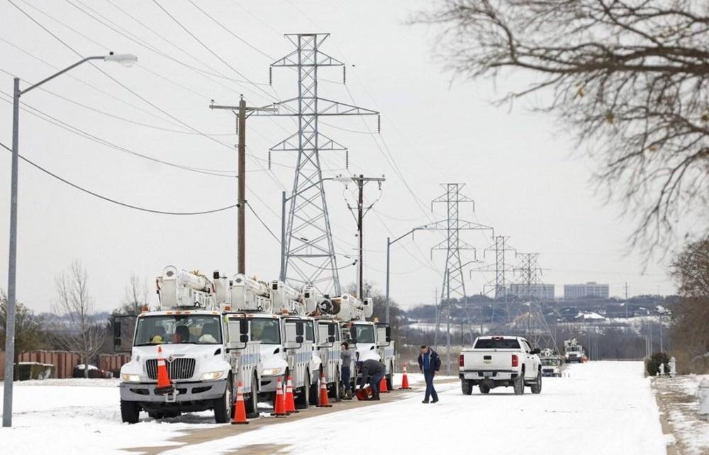 Teksas'ta kar fırtınası: En az 21 kişi hayatını kaybetti - 15