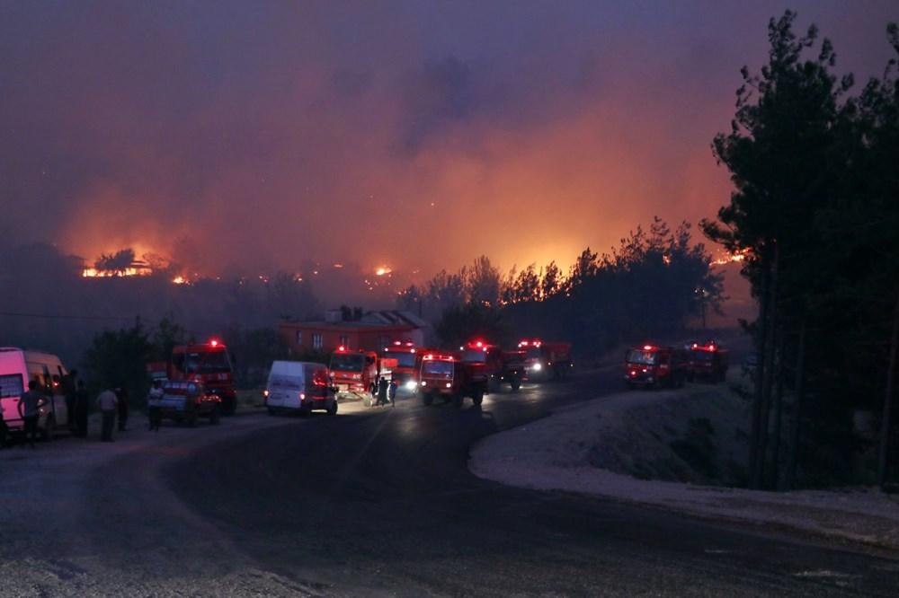 Adana'da orman yangını: 8 köy boşaltıldı - 5