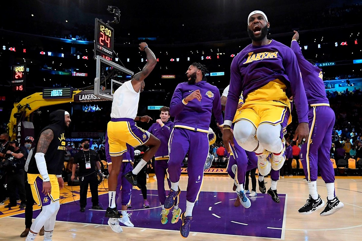 NBA 2021-2022 sezonunda ünlüler