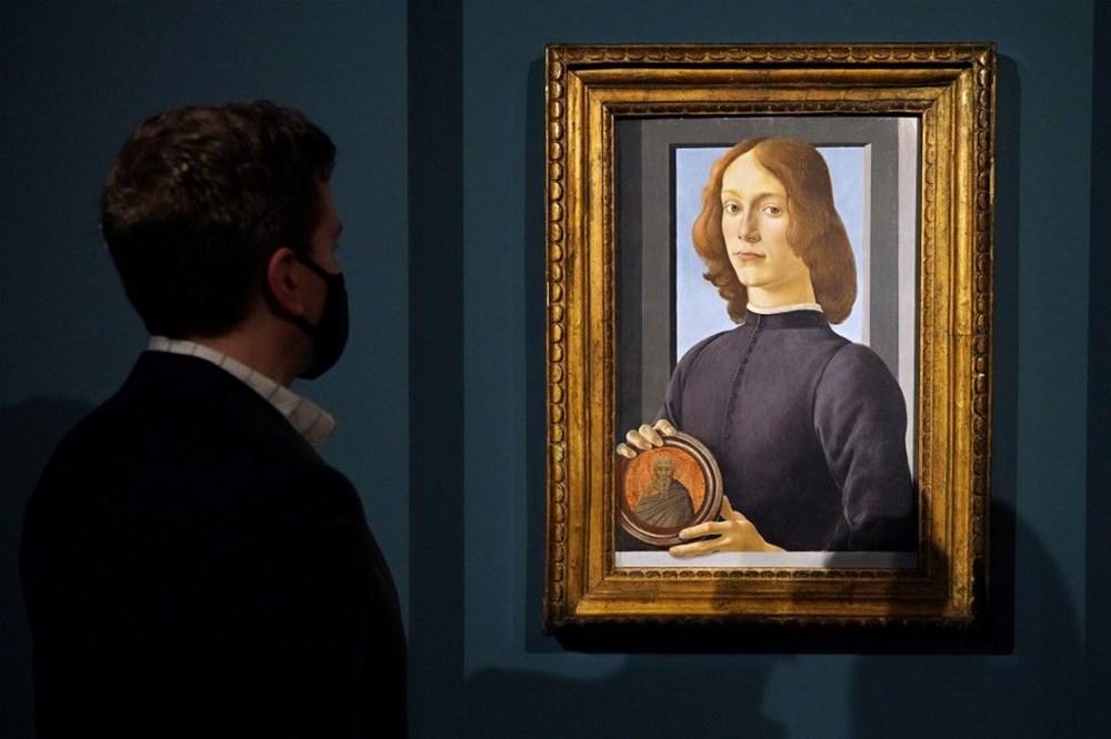 Botticelli'ye ait tablo 2021'in müzayede rekorunu kırdı: 92 milyon dolar - 5