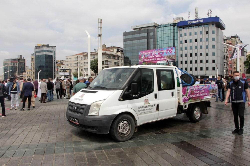 Taksim Camii için açılış hazırlıkları: Isparta'dan 25 ton gül suyu - 8
