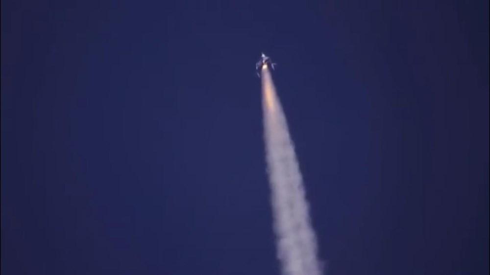 Virgin Galactic ikinci uçuş testini başarıyla tamamladı - 7