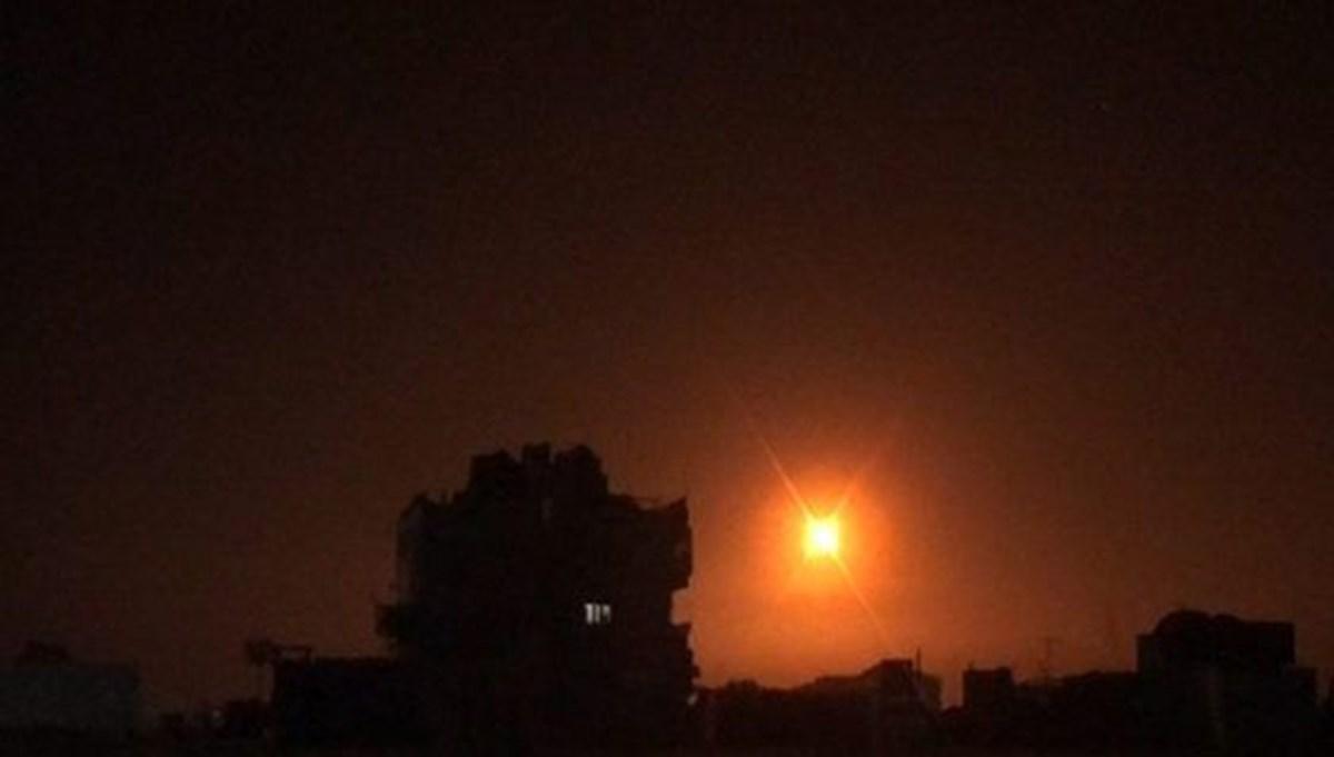 İsrail savaş uçakları Suriye'ye saldırı düzenledi